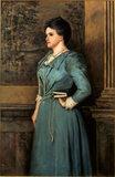 `CAROLINE KIPLING 1899' by Philip Burne-Jones (1861-1926), in the Study