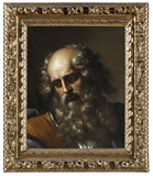 HEAD OF ST PAUL by Benedetto Gennari (1633-1715), painting in the White Closet at Ham House, Richmond-upon-Thames