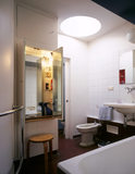 The Bathroom with a built-in vanity unit and bidet (revolutionary for the UK in the 1930's) at 2 Willow Road