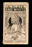 The cover for 'In Black and White' by Kipling at Batemans in the Exhibition Room