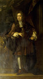 PORTRAIT OF &quot;YOUNG&quot; SIR JOHN BROWNLOW (1659-1697) by John Riley the builder of Belton House