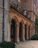 A detail of the Entrance Arcade, on the North Front of the House