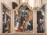TRIPTYCH, Flemish (Antwerp) School, c. 1510/30