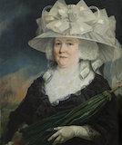Ann Denny, Mrs Thrower Buckle, by Charles Catton the elder, at Felbrigg Hall.