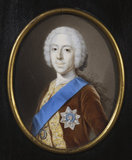 Miniature of PRINCE CHARLES EDWARD, THE YOUNG PRETENDER (BONNIE PRINCE CHARLIE) at Gunby Hall, Lincolnshire