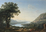Imaginary Landscape with the River Volturno
