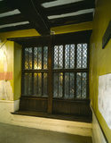 The Armada Window at Sutton House The window dates from the 16th-century but was relocated to this position in 1700