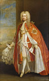 Portrait of Sir John Brownlow, later Viscount Tyrconnel, (1690-1754) by Charles Jervas (c