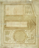 Design for a formal garden at Erddig, Clwyd, c.1725 attributed to Stephen Switzer (?1682-1745)