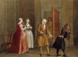 THE MOCK DOCTOR by Francis Hayman (1708-1776) at Sizergh Castle