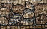 Detail from the Marian Needlework at Oxburgh, embroidered around 1570