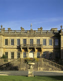 The West Front of Dyrham Park on a beautiful Autumn's night