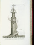 "Page from John Smeaton's 'A Narrative of the Building and a Description of the Construction of the Edystone Lighthouse"" (London, 1791) at Calke Abbey"