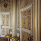 The Boudoir at Attingham Park: the climax of the suite of rooms on the 'female' side of the house