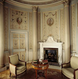 The fireplace in the Boudoir, probably supplied by John Deval the Younger, in 1785