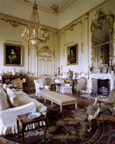 The White and Gold Room at Petworth with mid-C18th decoration