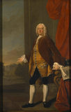SIR ROWLAND WINN, 4TH BARONET, by Henry Pickering, 1752, in the Dining Room at Nostell Priory