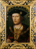 HENRY VIII AS A YOUNGER MAN in Flemish School,circa 1516