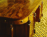 Detail of writing table c. 1805