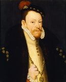 THOMAS RADCLIFFE after the Dutch painter Anthonis Mor at Anglesey Abbey