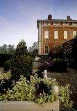 Ornamental garden at Beningbrough Hall, Yorkshire