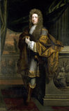 PORTRAIT OF SIR WILLIAM BROWNLOW by Godfrey Kneller, post- conservation, at Belton House (BEL/P/141a)