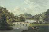 Painting of the Garden at Stourhead