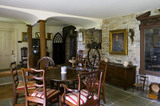 The Hall looking towards the Parlour at Plas yn Rhiw, Pwllheli, Gwynedd