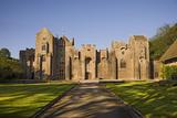 The north front of Compton Castle, Devon