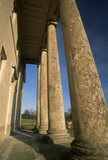 The portico of Philipps House (formerly Dinton House) Wilts