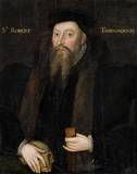 SIR ROBERT THROCKMORTON (died 1586), English, sixteenth century, on The Staircase at Coughton Court, Warwickshire