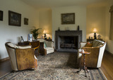 Lady Dorothy's Saloon at Coleton Fishacre, the house designed in 1925 for Rupert and Lady Dorothy D'Oyly Carte at Kingswear, Devon