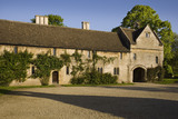 The Gatehouse at the north end of the long wing which may date from a slightly later period than the rest of the fifteenth-century Great Chalfield Manor, Wiltshire