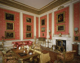 The Red Drawing Room, at Belton House