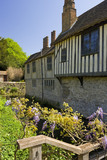 The North Front at Ightham Mote, Sevenoaks, Kent, constructed in about 1480
