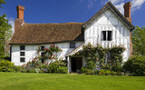 Lower Brockhampton House, the medieval manor house on the Brockhampton Estate in Worcestershire