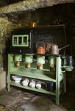 Valor paraffin stove in the Kitchen at Plas yn Rhiw, Pwllheli, Gwynedd