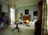 Lady Churchill's Sitting Room at Chartwell. NOT OPEN TO THE PUBLIC