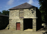 The Granary, one of the outbuildings of the Llanerchaeron estate in Wales
