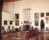 View of the Great Hall, North side at Clevedon Court
