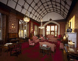General view of the Drawing Room at Tyntesfield looking south west towards the lancet windows