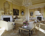 View of the South Drawing Room at Hinton Ampner, looking through to the North Drawing Room