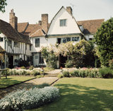 View of Paycocke's, in Essex, from the garden