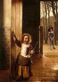 THE GOLF PLAYERS by Pieter de Hoogh (1629 - after 1684)