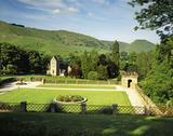 The Garden Terrace, Ilam Hall (now let to YHA), Ilam Park, Derbyshire