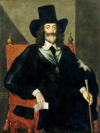 Charles I At His Trial By Edward Bower Fl Antony At