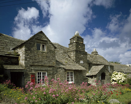 The C14th. stone built, Old Post Office, Tintagel
