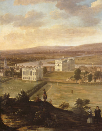 A VIEW OF GREENWICH by Hendrick Danckerts,(c