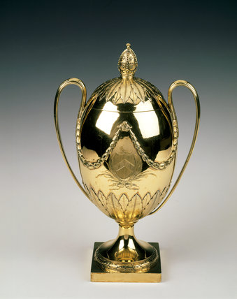 Brathwaite cup for the Presidents of the Society of Archbishops by Paul Storr, 1795, at Anglesey Abbey