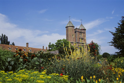The Tower from Cottage Garden at Sissinghurst